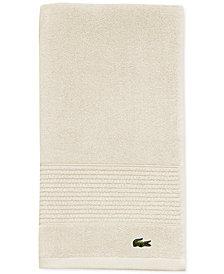"""Lacoste Legend 16"""" x 30"""" Supima Cotton Hand Towel"""