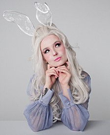 Wonderland After Dark Halloween Makeup - Bunni