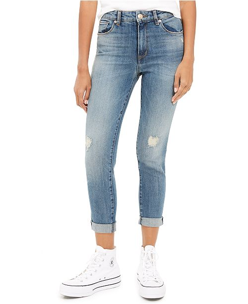 STS Blue Distressed Straight Leg Jeans