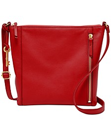 Tara Leather Crossbody