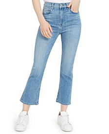 High-Rise Slim Kick Jeans