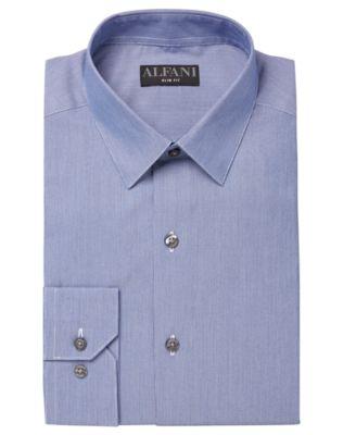 NEW $121 CLUB ROOM 17 32//33 Men REGULAR-FIT WHITE LONG-SLEEVE BUTTON DRESS SHIRT