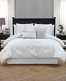 Pom-Pom Twin 6 Piece Comforter Set