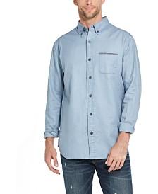 Weatherproof Vintage Men's Twill Button-Down Shirt