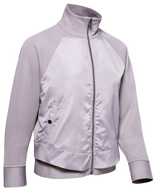 Under Armour Women's Misty Copeland Layered-Look Jacket