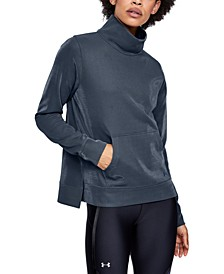 Women's Armour Fleece Mock-Neck Training Top