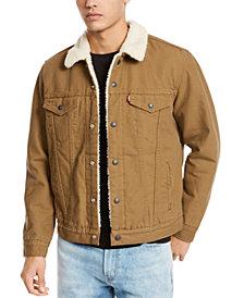 Levi's® Men's Sherpa Canvas Trucker Jacket