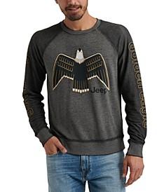 Men's Jeep Golden Eagle Graphic Sweatshirt