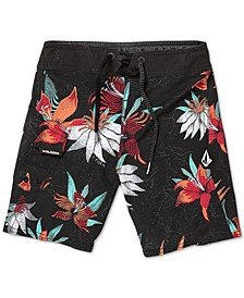 Big Boys Verano Stone Printed Swim Trunks