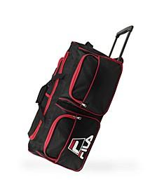 "30"" 8-Pocket Rolling Duffel Bag"