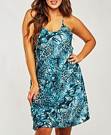 Plus Size Ultra Soft Print Chemise Nightgown