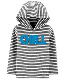 Toddler Boys Cotton Chill Hooded T-Shirt