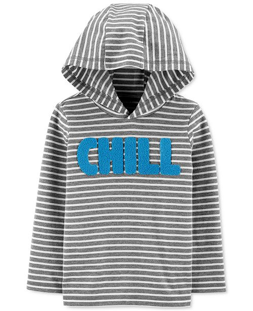 Carter's Toddler Boys Cotton Chill Hooded T-Shirt