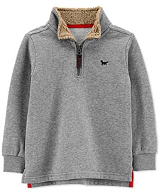 Toddler Boys Half-Zip Fleece Pullover