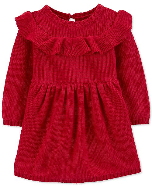 Carter's Baby Girls Ruffled Cotton Dress