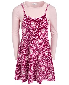 Big Girls Unicorn Floral Dress, Created For Macy's