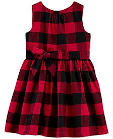 Toddler Girls Buffalo-Check Dress