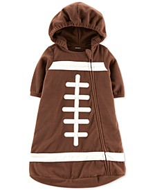 Baby Boys Fleece Football Bag Pajama