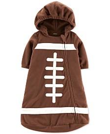 Carter's Baby Boys Fleece Football Bag Pajama
