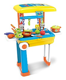 World Tech Toys Lil Chef Boys Mobile Suitcase Playset