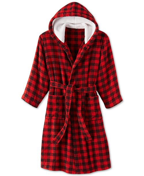 Sunham Upstate Plaid Cotton Robe