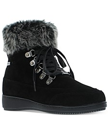 Women's Francie Boots with Faux Fur Trim