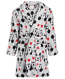 Toddler Boys Fleece Mickey Mouse Robe