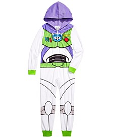 Little & Big Boys 1-Pc. Fleece Buzz Lightyear Pajama