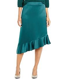Asymmetrical Ruffle-Hem Skirt, Created For Macy's
