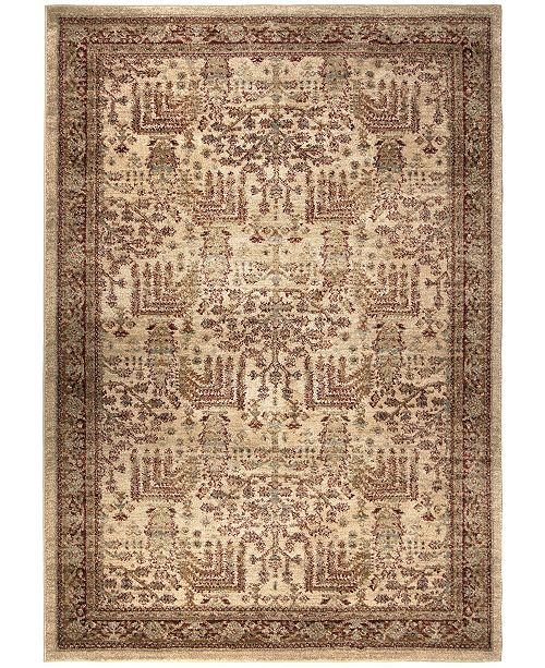 """Palmetto Living Aria Persian Forest Bisque 6'5"""" x 9'6"""" Area Rug"""