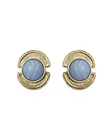 Stephanie Kantis Sheath in Blue Chalcedony Stone Earring