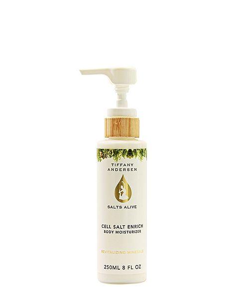 Tiffany Andersen Brands Cell Salt Enrich Moisturizing Lotion feat. Hemp Seed Oil