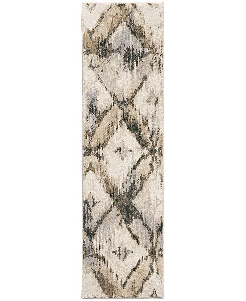 "Palmetto Living Riverstone Havana Natural 2'3"" x 8' Runner Rug"