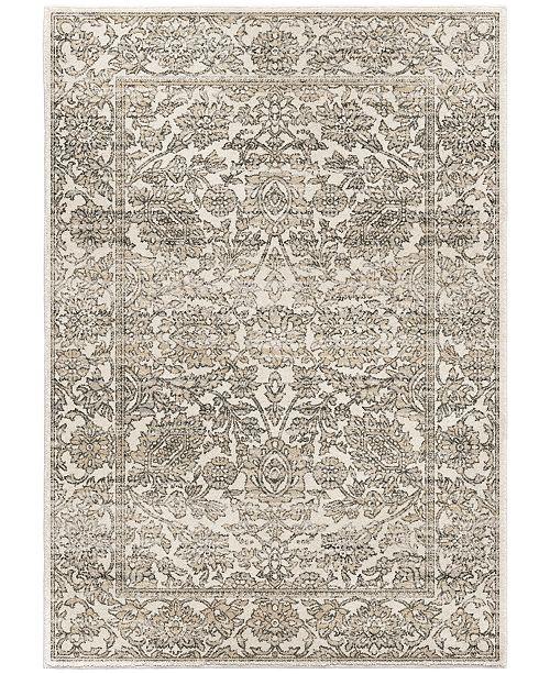 "Palmetto Living Riverstone Persian Tonal Light Gray 7'10"" x 10'10"" Area Rug"