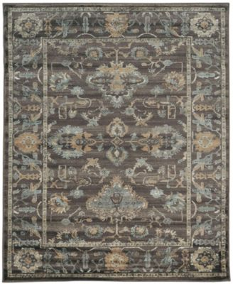 "CLOSEOUT! 3562/0040/LIGHTBROWN Cantu Brown 3'3"" x 4'11"" Area Rug"