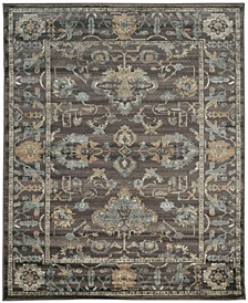 "CLOSEOUT! 3562/0041/LIGHTBROWN Cantu Brown 5'3"" x 7'3"" Area Rug"