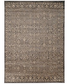 "CLOSEOUT! 3564/0040/LIGHTBROWN Cantu Brown 3'3"" x 4'11"" Area Rug"