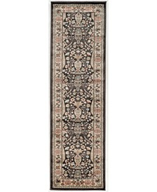 "CLOSEOUT! 3812/1013/BROWN Gerola Brown 2'2"" x 7'7"" Runner Rug"