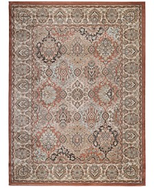 "CLOSEOUT! 3802/0020/TERRACOTTA Gerola Red 3'3"" x 4'11"" Area Rug"