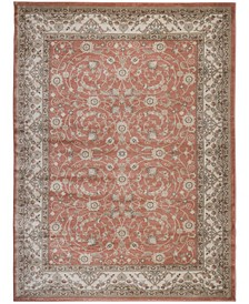 "CLOSEOUT! 3810/0020/TERRACOTTA Gerola Red 3'3"" x 4'11"" Area Rug"