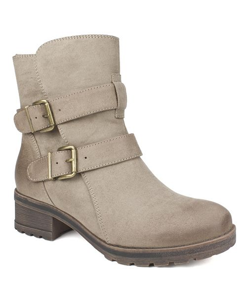 White Mountain Chastity Regular Ankle Booties