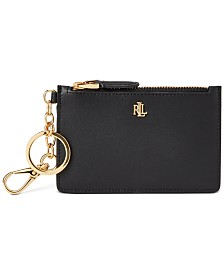 Lauren Ralph Lauren Zip Card Case