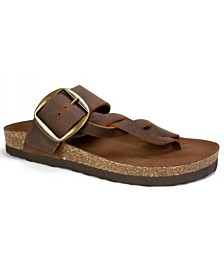 White Mountain Harvey Footbed Sandals