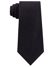 Men's Slim Metallic Neat Tie