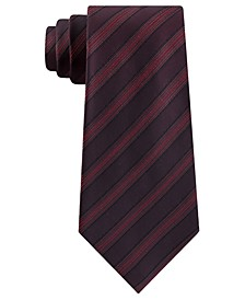 Men's Slim Metallic Dot Stripe Tie