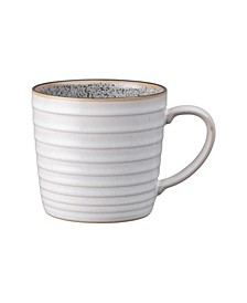 Studio Craft Grey/White Ridged Mug