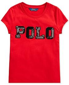 Big Girls Cotton Jersey Logo T-Shirt