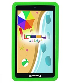 "7"" New Kids Funny Tablet PC Android 6.0 with Defender Case Dual Camera"