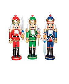 "14.5"" 3-piece Bejeweled Kings set"