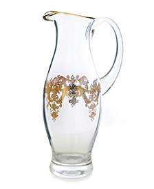 Pitcher with 24k Gold Artwork